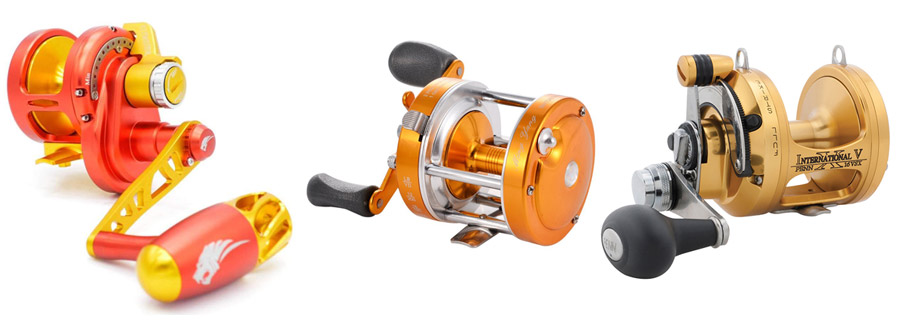 Penn Squall Lever Drag Multiplier Trolling Sea Fishing Reel All Sizes Offered